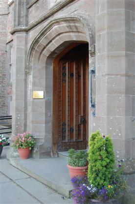 Strathallan School Door